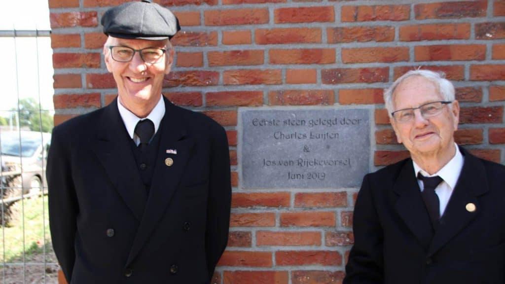 Op de foto Jos van Rijckevorsel (l) en Charles Luijten. Foto: Erwin Martens